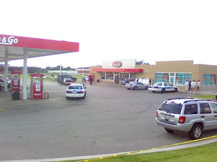 Owasso Police Officer Shoots Man Who Tried To Rob Gas Station