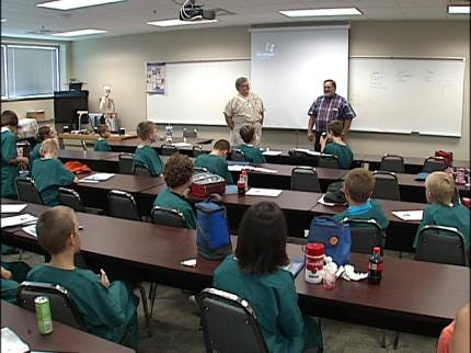 Tulsa Campers Learn Life-Saving Lessons