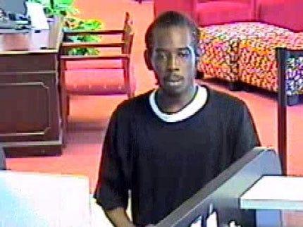 Bank Robber Hits East Tulsa Bank of America Branch