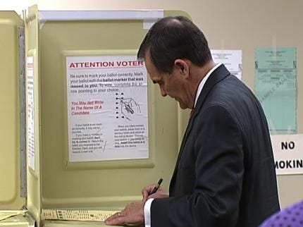 Polls Close For Primary Election, Votes Being Tallied