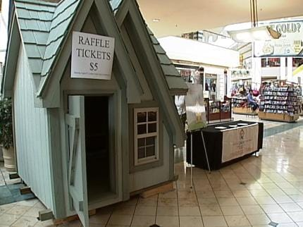 Tulsa Non-Profit Organization Selling Playhouse Raffle Tickets