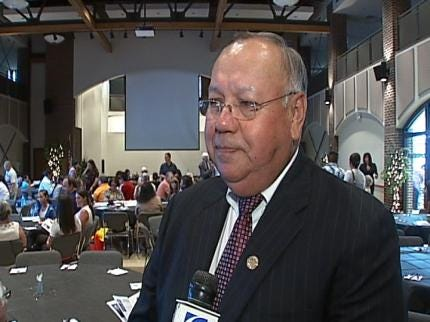 Greater Tulsa Indian Affairs Commission Honors George Tiger