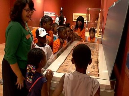 Tulsa Boys And Girls Clubs Experience 'Rock Philbrook!'