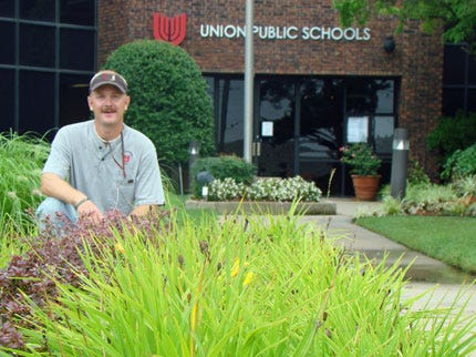 Union Groundskeeper Honored For Green Thumb