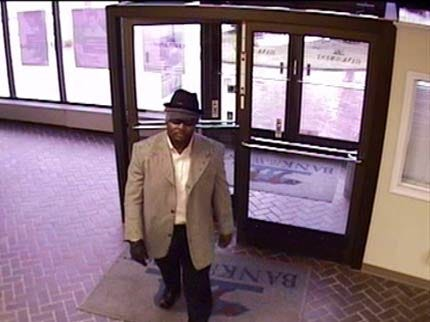 Police Looking For Tulsa Bank Robber