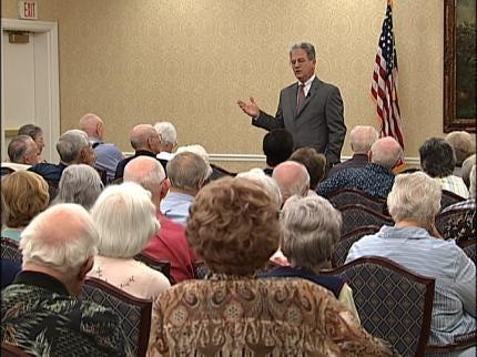 Senator Tom Coburn Warns Seniors About Medicare Changes