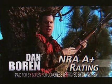Congressman Boren Defends Gun Control Ad Against Senator Jim Wilson