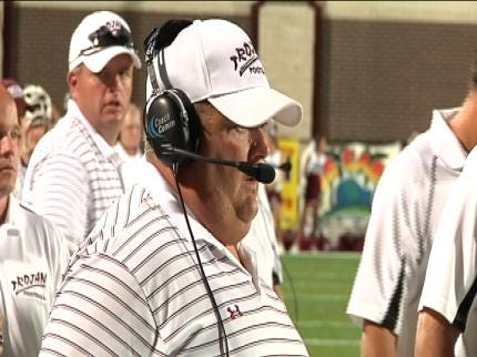 Jenks Football Coach Looks Forward To Getting Back In The Game