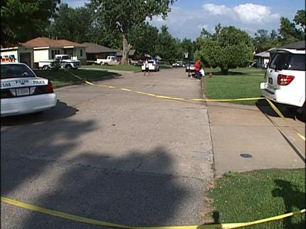 One Injured In North Tulsa Drive-By Shooting