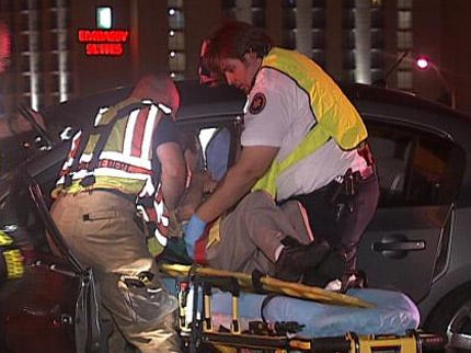 Two Injured In Eight-Car Accident On Broken Arrow Expressway