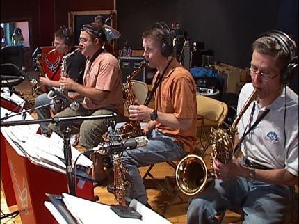 U.S. Air Force Band Records At Tulsa Studio