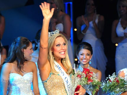 New Miss Oklahoma Excited To Spread State Values Across Country