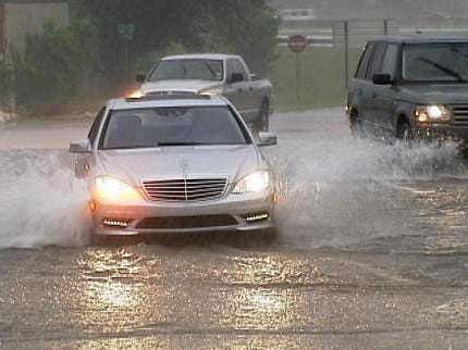 Flash Flooding Hits Tulsa Area