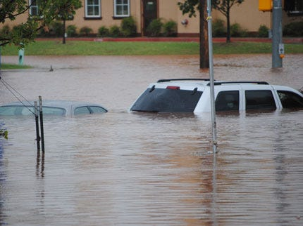 Most Of Oklahoma Under A State Of Emergency Because Of Flooding