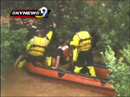 Tulsa Firefighters Prepared For Dangerous Swift Water Rescues