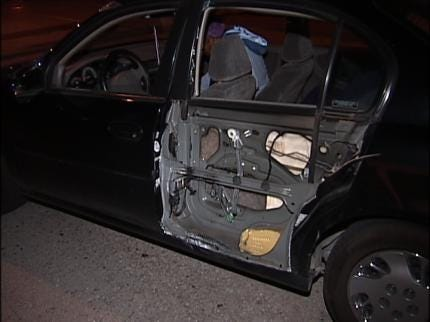 Driver Chases Truck That Damaged His Car Early Wednesday