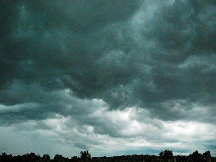 Thunderstorms Move Through Northeast Oklahoma