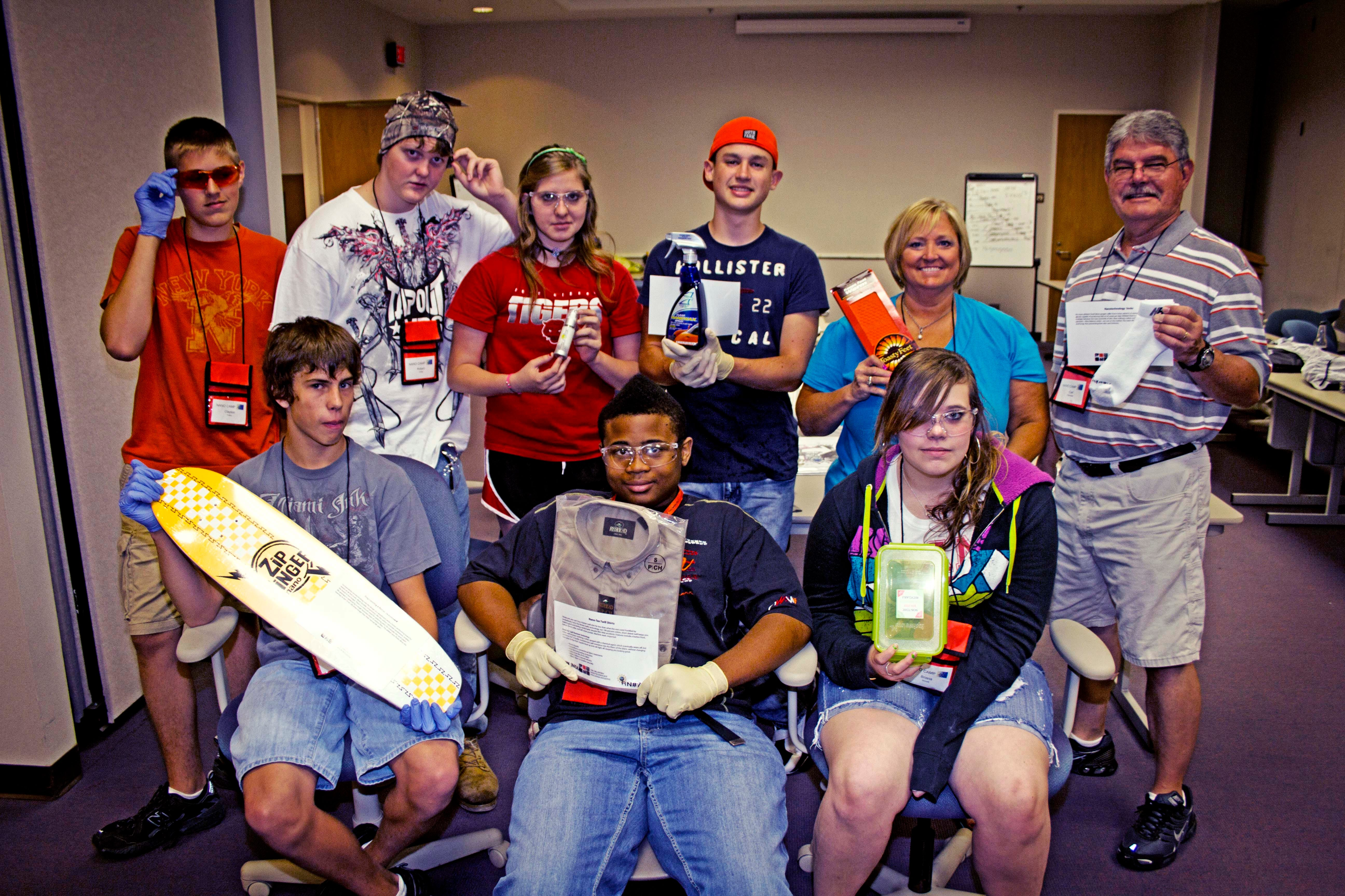 OSU's Nanotechnology Camp Shows Students How Small Can Be Great