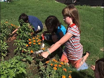 Tulsa Children's Culinary Creations For 'Global Gardens'