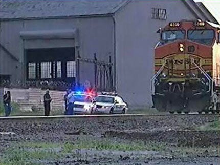 Man Escapes Serious Injury After Being Hit By Locomotive In Tulsa