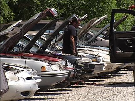 Tulsa County Sheriff's Office To Auction Off Seized Vehicles