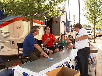The News On 6, Tulsa Drillers Working To Strike Out Hunger