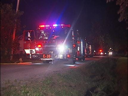 North Tulsa House Fire Under Investigation