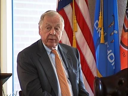 T. Boone Pickens: Feds Should Quit Picking On BP Over Oil Spill