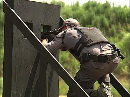 SWAT Teams Take Aim On Sniper Competition In Tulsa
