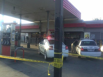 Police Investigate Murder-Suicide At Tulsa Gas Station