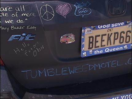 Tulsa School Teacher Honors Route 66 Icon With Art Car
