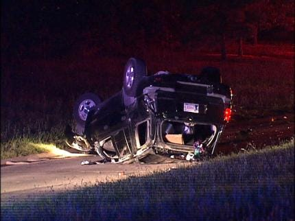 One Killed In Tulsa Rollover Accident