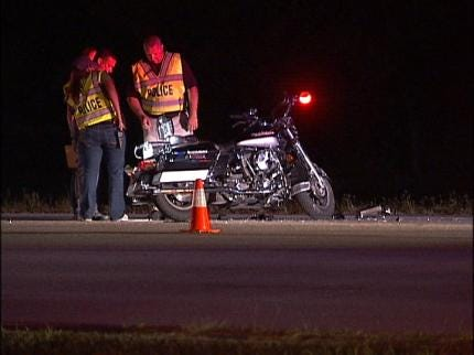 Two Motorists Sought In Deadly Broken Arrow Motorcycle Accident