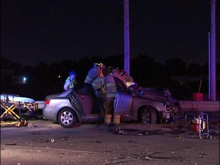 Early Tuesday Morning Accident Sends Two To The Hospital