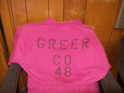 Greer County Jail Inmates Now Wearing Hot Pink