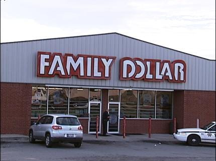 Man Armed With A Knife Robs Tulsa Family Dollar Employee