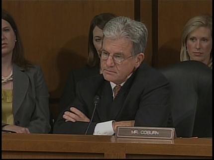 Oklahoma Senator Grills Supreme Court Nominee