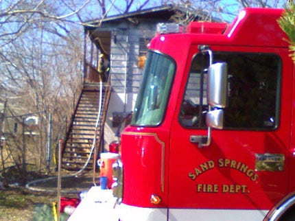 Sand Springs Firefighters To Take Pay Cut