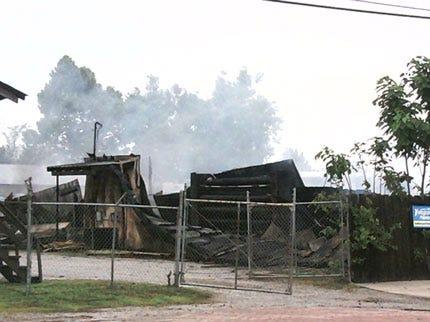 Lightning Strike Causes $1 Million In Damages To Vinita Lumber Yard