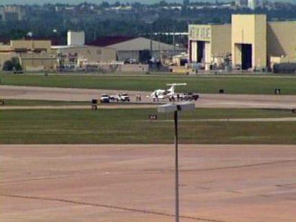 Main Runway At Tulsa International Airport Re-Opens