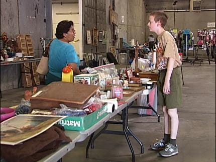 Tulsa Boy Scouts Hoping To Make Money For Summer Fun