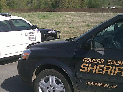 Rogers County Sheriff's Office On Manhunt For Robbers