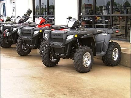 Oklahoma Camp Gives Lessons In ATV Safety