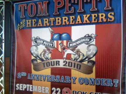 Date Changed For Tom Petty Concert At BOK Center