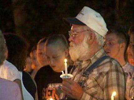 Vigil Held Following Death Of Tulsa Rib Crib Employee