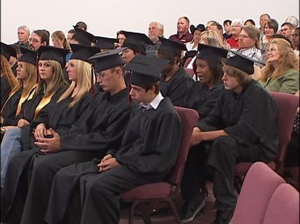 White Oak High School Graduates Last Class