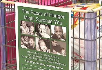 Money Saving Queen Helps Community Food Bank of Eastern Oklahoma