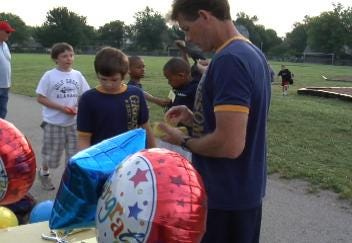 Grissom Elementary Students Run 11,000 Miles for Fitness