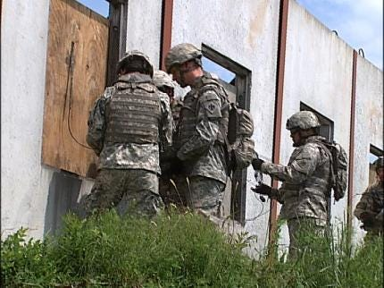 Hundreds Of Oklahoma Soldiers Prepare For Deployment To Middle East