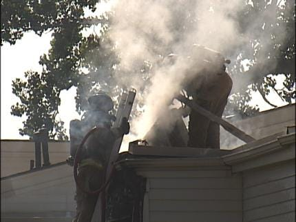 Juvenile Playing With Lighter Started Tulsa Apartment Fire